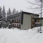Bohemaland v zimě - hlavní budova
