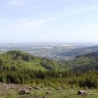 Zlatohorská vrchovina - panorama